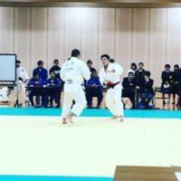 救護班として柔道の全日本県予選の大会に参加